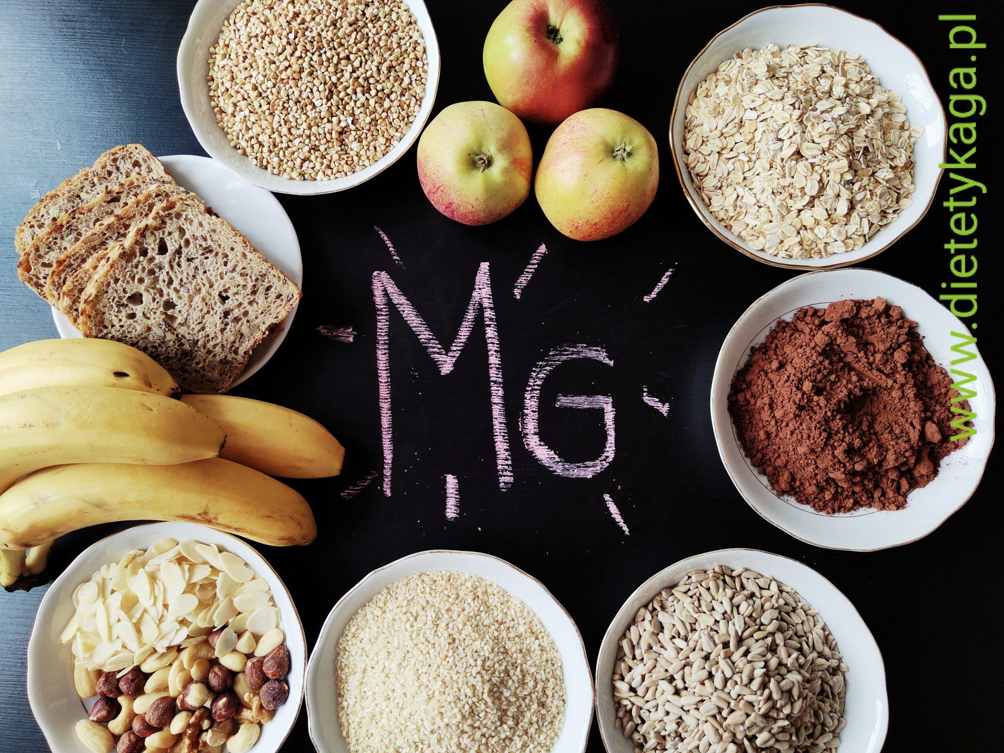 Magnez niezbędny składnik prawidłowej diety.